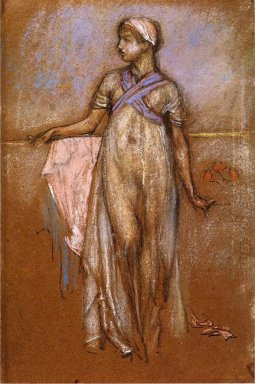 The Greek Slave Girl Or Variations In Violet And Rose