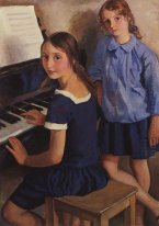 Girls At The Piano 1922