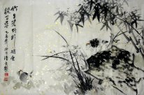 Bamboo-Raw wilderness - Chinese Painting