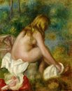 Bather Seated Nude