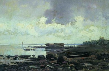 The Shore Cloudy Day 1869