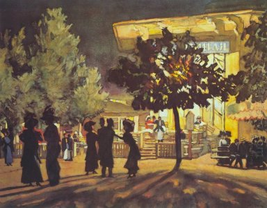The Night Tverskoy Boulevard 1909