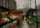 Flower Market At La Madeleine 2