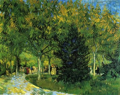 Avenue In The Park 1888
