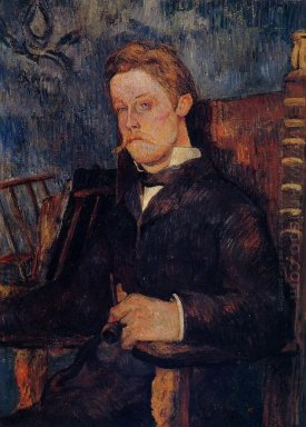 portrait of a seated man 1884