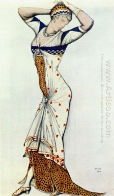 Design For A Lady S Dress 1912