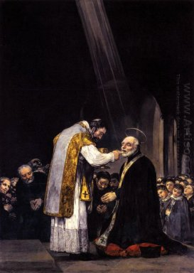 The Last Communion Of St Joseph Calasanz 1819