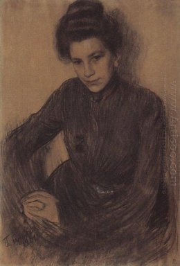 Portrait Of Z Proshinskaya 1901