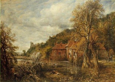 arundel mill and castle 1837