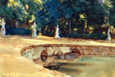 Pool In The Garden Of La Granja 1912