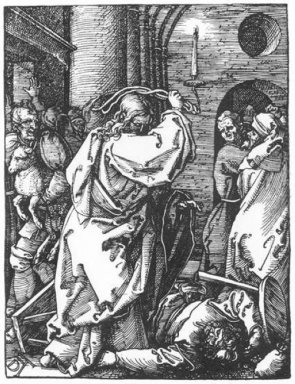 christ driving the merchants from the temple 1511