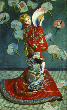 Madame Monet in Japanese Costume (La Japonaise)