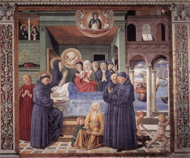 Death Of St Monica 1465