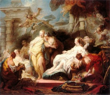 Psyche Showing Her Sisters Her Gifts From Cupid 1753