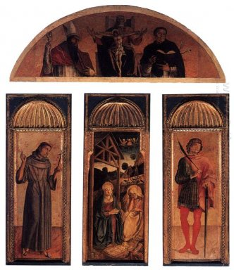 Triptych Of The Nativity 1470