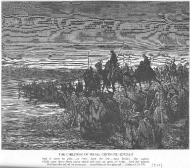 The Israelites Cross The Jordan River