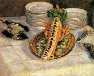 Still Life With Crayfish 1882