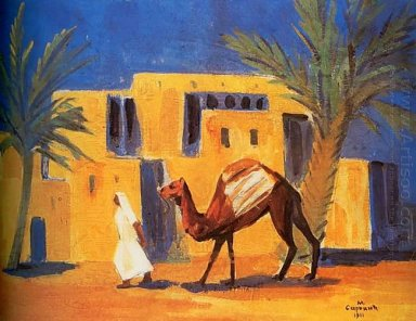Bedouin With A Camel 1911