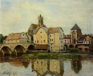 moret sur loing morning 1892
