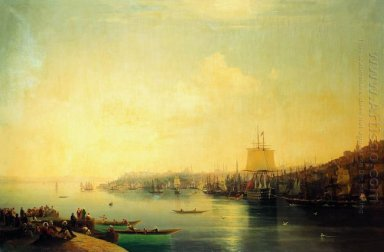 View Of Constantinople 1849