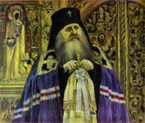 Archbishop Portrait Of Antoniy Volynskiy 1917
