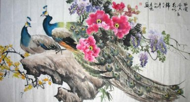 Peacock&Peony - Chinese Painting