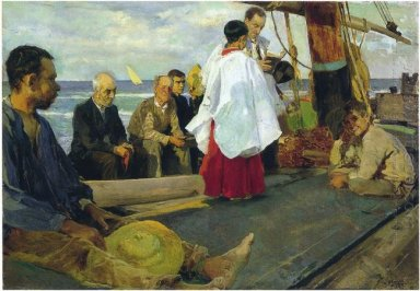 Blessing The Boat 1895
