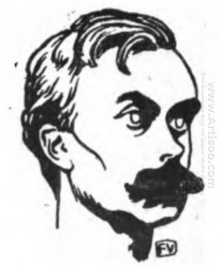 Portrait Of French Writer L On Bloy 1898