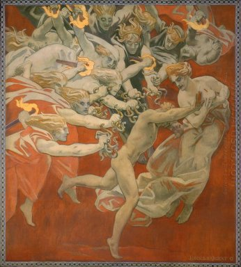 Orestes Pursued By The Furies 1921