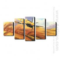 Hand-painted Oil Painting Landscape Landscape - Set of 5