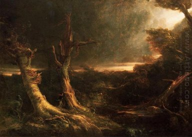 A Tornado In The Wilderness 1835