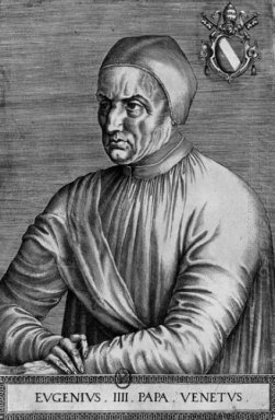 Portrait Of Pope Eugene Iv