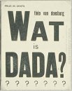 Cover Of What Is Dada 1923