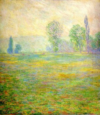 Meadows In Giverny 1888