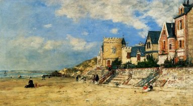 The Tour Malakoff And The Trouville Shore 1877