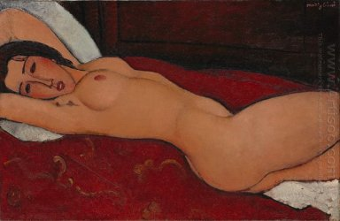 reclining nude 1917 1