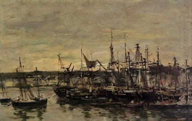 The Port Portrieux 1873