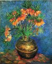 Fritillaries In A Copper Vase 1887