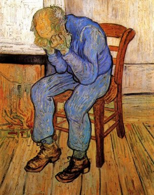 Old Man In Sorrow On The Threshold Of Eternity 1890