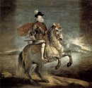 Equestrian Portrait Of Philip Iii 1635