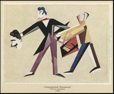 costume design for modern khlestakov 1921