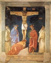 Crucifixion and Saints