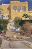 Afternoon Sun At The Alcázar Of Seville 1910