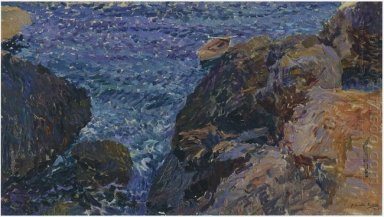 Rocks At Javea The White Boat 1905