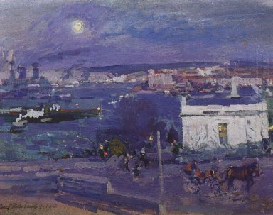 Harbour At Sebastopol 1916