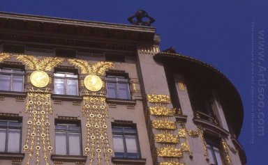 Decorating Of The Facade By Kolo Moser
