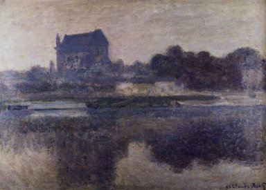 Vernon Church In Fog 1893
