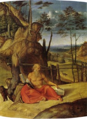 St Jerome In The Desert 1