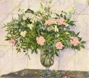Still Life Jasmine And Dog Rose At The Stove 1951