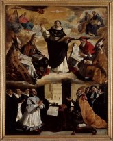 Apotheosis Of St Thomas Aquinas 1631